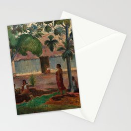 """Paul Gauguin """"The Large Tree"""" Stationery Cards"""