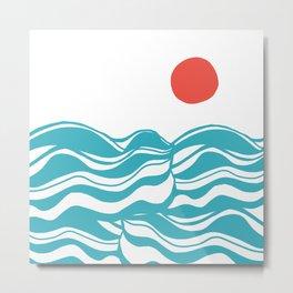 Swell, ocean waves Metal Print