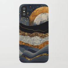 Metallic Mountains iPhone X Slim Case
