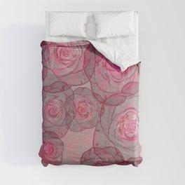 Rose flow Comforters