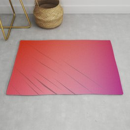 Design blocks, gold ethno Rug