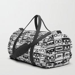Something Nostalgic - black and white #decor #society6 #buyart Duffle Bag