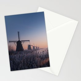 Sunrise at Kinderdijk II Stationery Cards