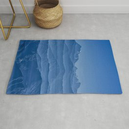 Blue Hima-layers Rug