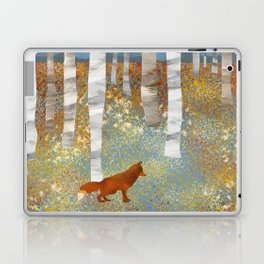 Autumn Fox Laptop & iPad Skin