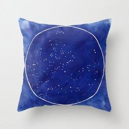 Star Chart - Summer Throw Pillow