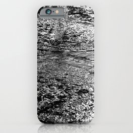 Water Fountain Abstract iPhone Case