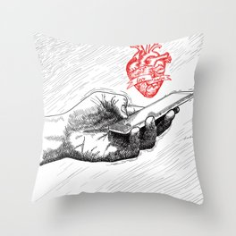And I'll send all my loving to you Throw Pillow