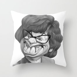 Austin Power, Mike Myers Throw Pillow