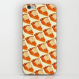Pumpkin Pie Pattern iPhone Skin