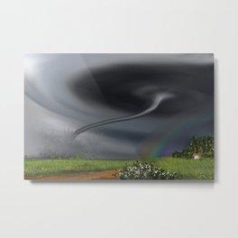 Tornado Metal Print