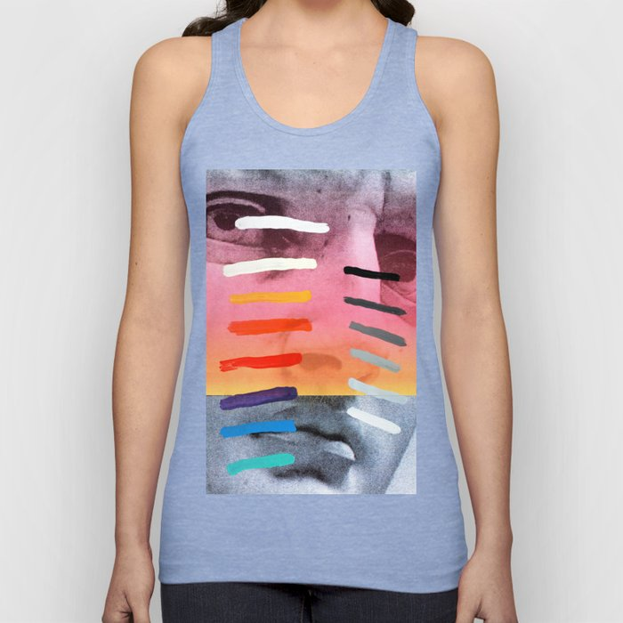 Composition on Panel 4 Unisex Tank Top