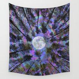 Moon Swirl Wall Tapestry