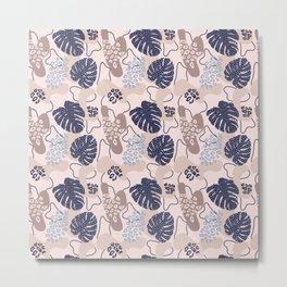 Modern exotic pattern Metal Print