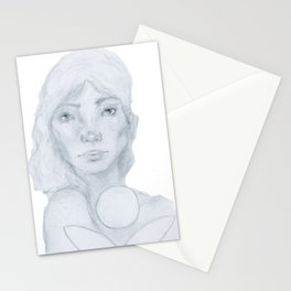 Lined Beauty Stationery Cards