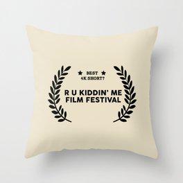 Film Festival Winner : Best 4K Short Throw Pillow