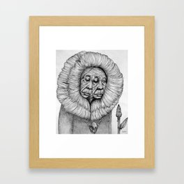 The Shawoman Framed Art Print