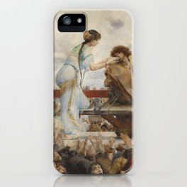 The Hunchback of Notre Dame - Luc-Olivier Merson iPhone Case