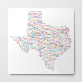 Where Y'all From? Metal Print