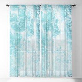 Perfect Sea Waves Sheer Curtain