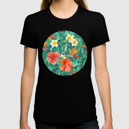 Classic Tropical Garden T-shirt