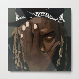 1738 | FETTY WAP Metal Print