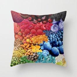 Uniendo Conciencias (Joining Consciences) Throw Pillow