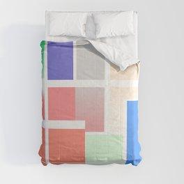 Minimalist Abstract Colour Art Comforters