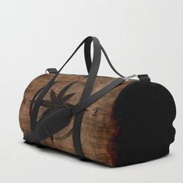 Nostalgic Old Compass Rose Duffle Bag