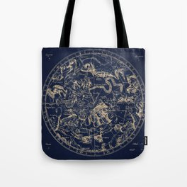 Gold Ceiling | Zodiac Skies Tote Bag