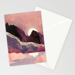 Blush Vista Stationery Cards