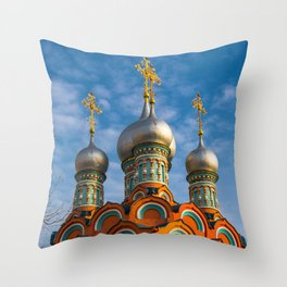 the dome of the Church Throw Pillow