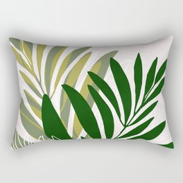 Olive Branches / Contemporary Botanical Art Rectangular Pillow