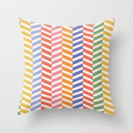 Enid Frill Throw Pillow