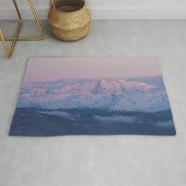 Perfect sunrise in South Tyrol - Landscape and Nature Photography Rug
