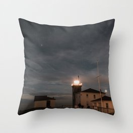 Watch Hill Lighthouse Throw Pillow