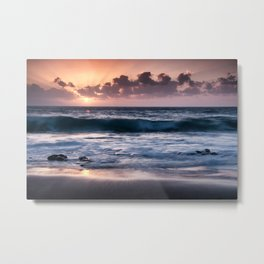 Sunset at El Arenal Metal Print