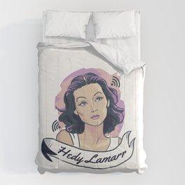 Hedy Lamarr Comforters