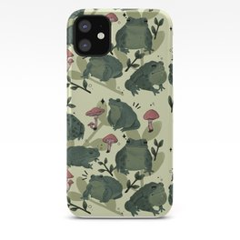 Frog Time iPhone Case