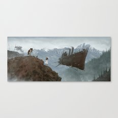1920 - big role Canvas Print