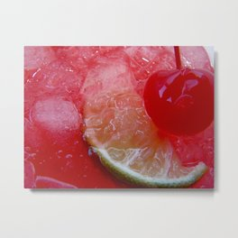 Limeade Metal Print