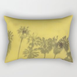 Yellow Palms Rectangular Pillow