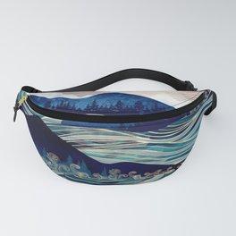 Ocean Sunrise Fanny Pack