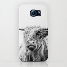 portrait of a highland cow Galaxy S8 Slim Case