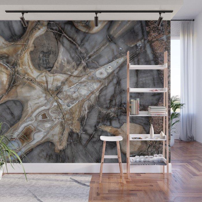 Petrified Wood 3264 Wall Mural By