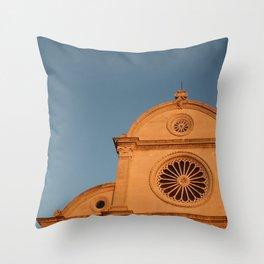 Sibenik Cathedrale Throw Pillow