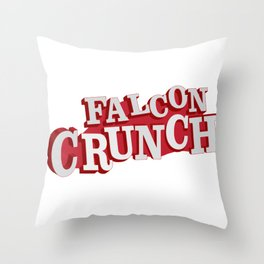 Falcon Crunch Throw Pillow