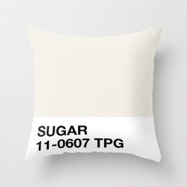 sugar Throw Pillow