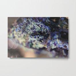 Azurite Metal Print