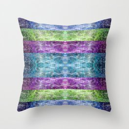 Abstract Lighttrails Stripes 1407 Throw Pillow